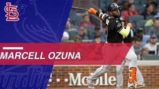 Watch Ozuna's highlights with Miami