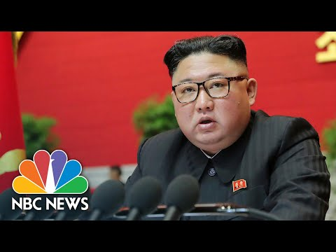 North Korean President Issues Warning To U.S. During Workers' Party Speech | NBC News