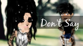 Don't say  -  MSP VERSION (part two of irreplaceable)