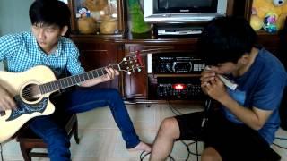 khi cô đơn em nhớ ai ? guitar & harmonica
