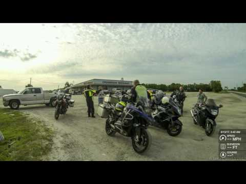K1600GTL - MSTA - Lunch Ride To Lone Cabbage Fish Camp (motorcycle Ride - 4k)