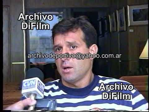 Gerardo Martino habla de Newell's Old Boys - DiFilm 1994