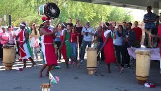 Burundi Diaspora   Meet Peter Gasimbo , KomezaKaranga Drummer Group
