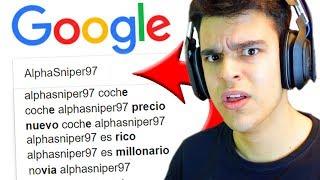 He buscado mi nombre en Google...
