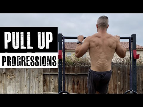 Pull Up Progression (from beginner to advanced in one video)
