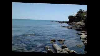 Mediterranean side/antalya -sea and ruins(HD)