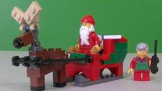 Lego Polybag - Santa's Sleigh 40059 Review