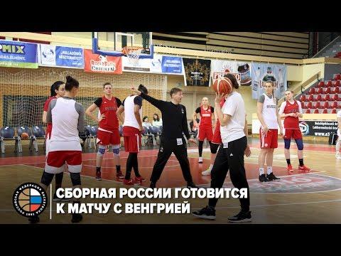 Сборная России готовится к матчу с Венгрией