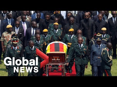 Mugabe state funeral: World leaders, supporters honour Zimbabwe's founding president