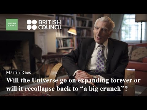 The Size of the Universe — Martin Rees