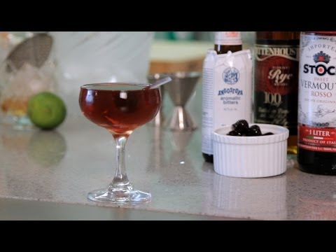How to Make a Manhattan | Cocktail Recipes