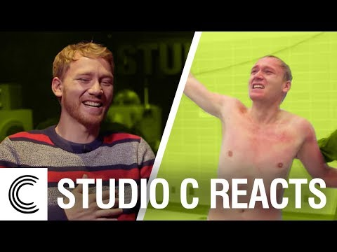 Studio C Reacts: Diving Finals