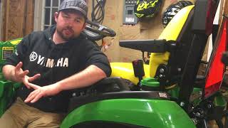 John Deere 1025r 25 hour review and why I bought it!