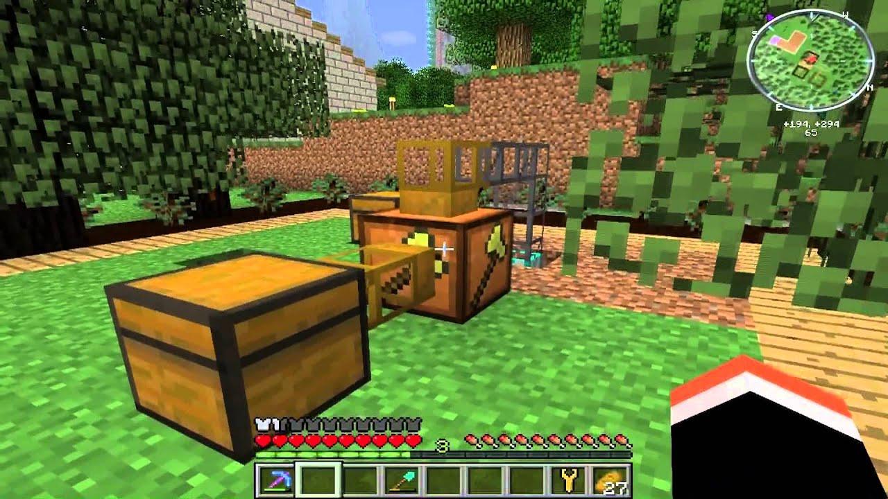 Minecraft Ftb A Compact Rubber Tree Farm Plus Update Of