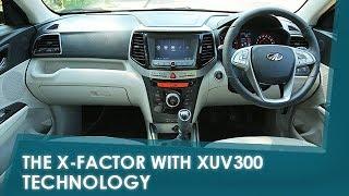 Sponsored - The X-Factor with XUV300: Technology | NDTV carandbike