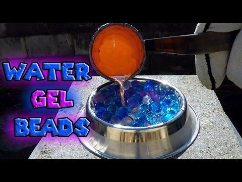 Molten Copper vs Water Gel Beads Orbeez