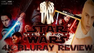 Star Wars The Last Jedi 4K Bluray Review I Dolby Vision I Atmos