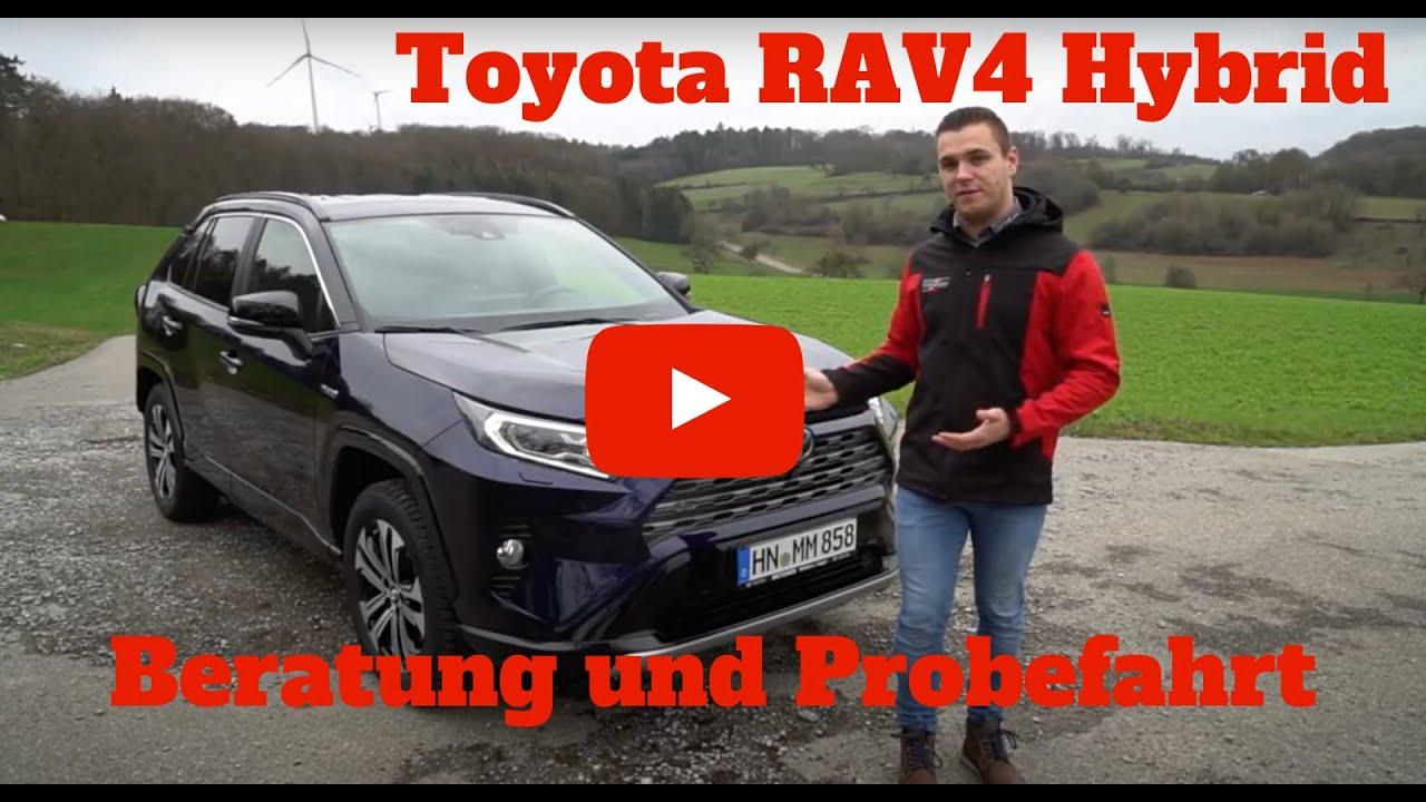 Toyota RAV4 Hybrid 2019 im Test - Beratung und Probefahrt - Deutsch