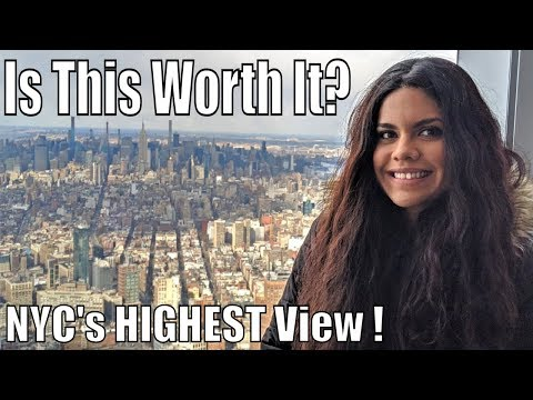One World Observatory- Tourist Trap Or Must Visit? (NYC Attraction Review)