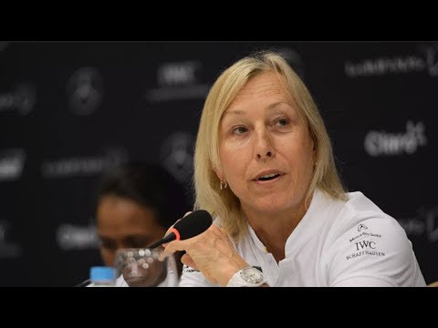 Navratilova: Transgender Women Cheating Women's Sport