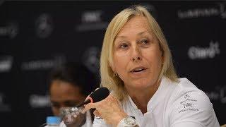 Navratilova: Transgender Women Cheating Women's Sport