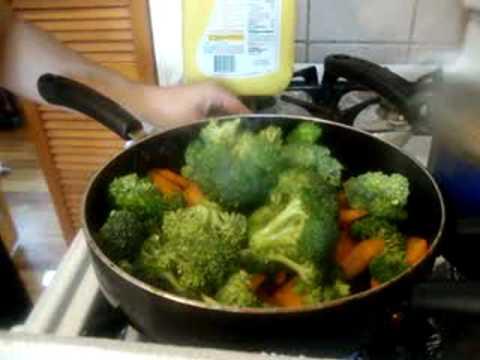 Comida china salteado de verduras comida vegetariana - Como hacer verduras salteadas ...