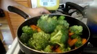 Comida china Salteado de verduras / Comida Vegetariana - La receta de la abuelita
