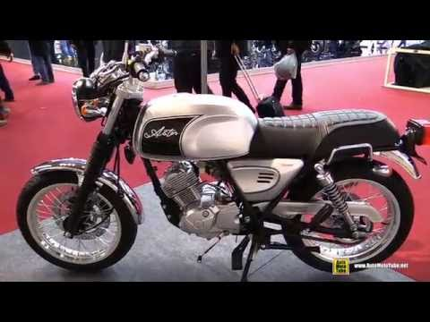 2016 Orcal Astor 125 Classica - Walkaround - 2015 Salon de la Moto Paris