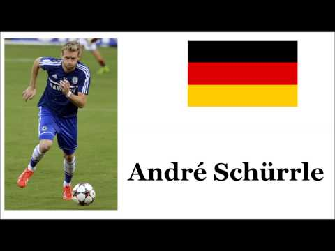 How to Pronounce  André Schürrle - German Footballer