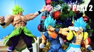 Goku from Past Christmas - Dragon Ball Stop Motion Part 2/Finale