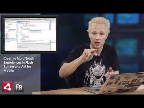 ADC Presents - Transform Gestures for Flash Builder and Adobe AIR Mobile Development