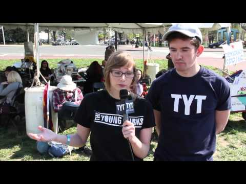 TYT Representing' at Democracy Spring! (And Hitting On John Iadarola)