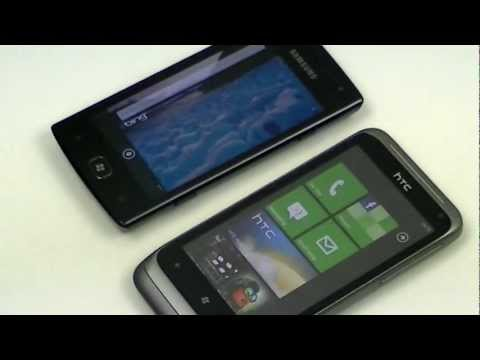 English: Samsung Omnia W vs HTC Radar
