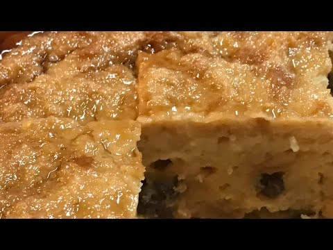 How To Make Classic Bread Pudding Filipino Style