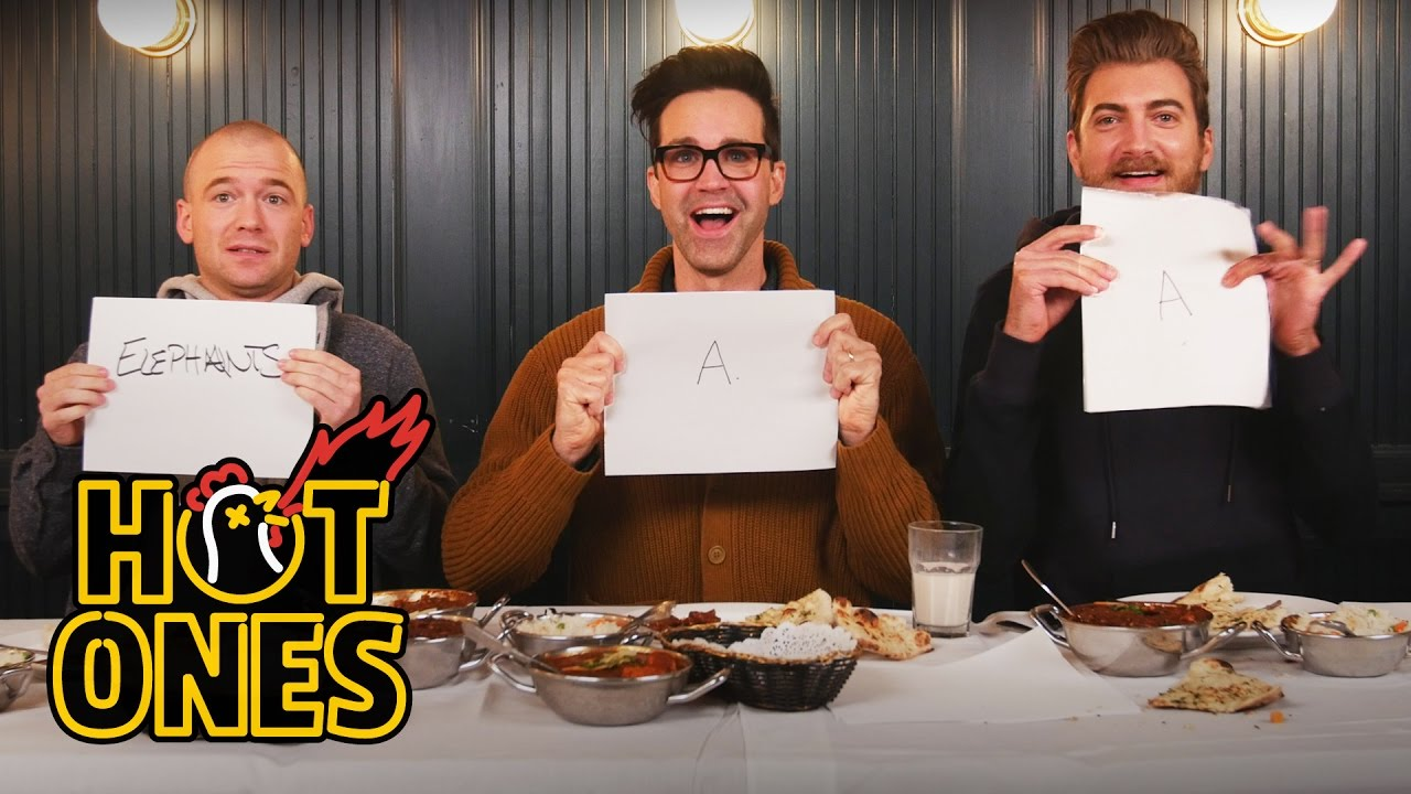 Rhett & Link Eat the Spiciest Curry in the World With Sean Evans on