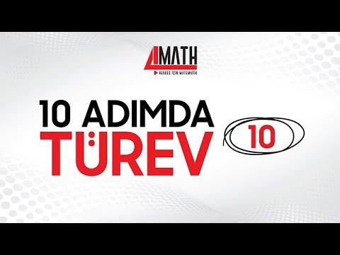 10 Adımda Türev -10