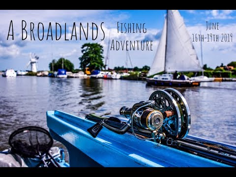 Fishing The Norfolk Broads For Perch, Roach, Bream, Gudgeon And A Surprise Pike!