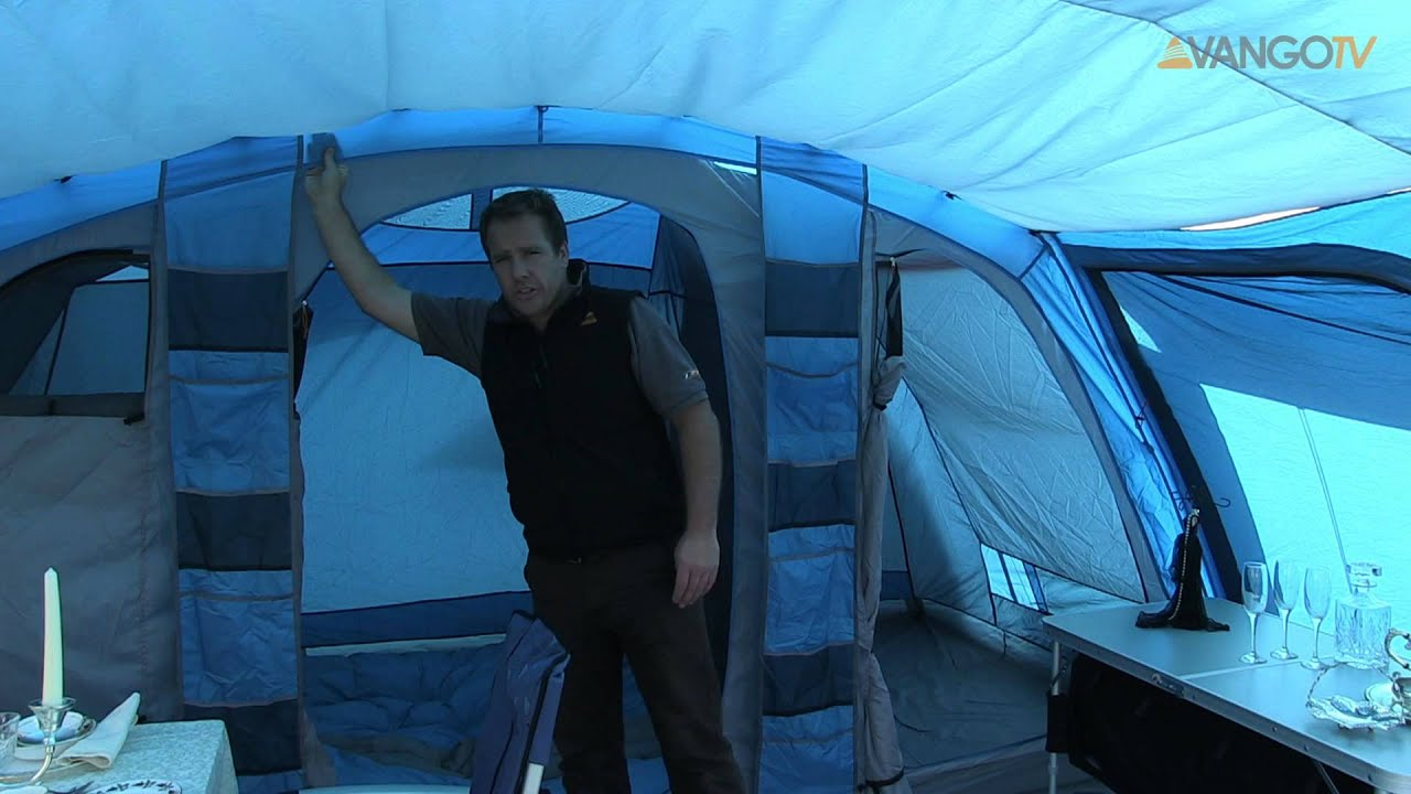 & Vango Family - Amazon poled tent filmed 2013 - YouTube