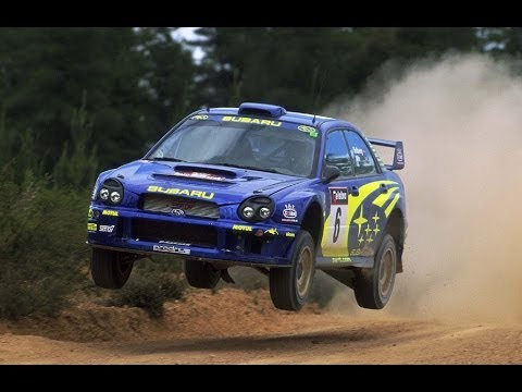 Onboard Rally: Subaru Impreza GT Turbo - YouTube