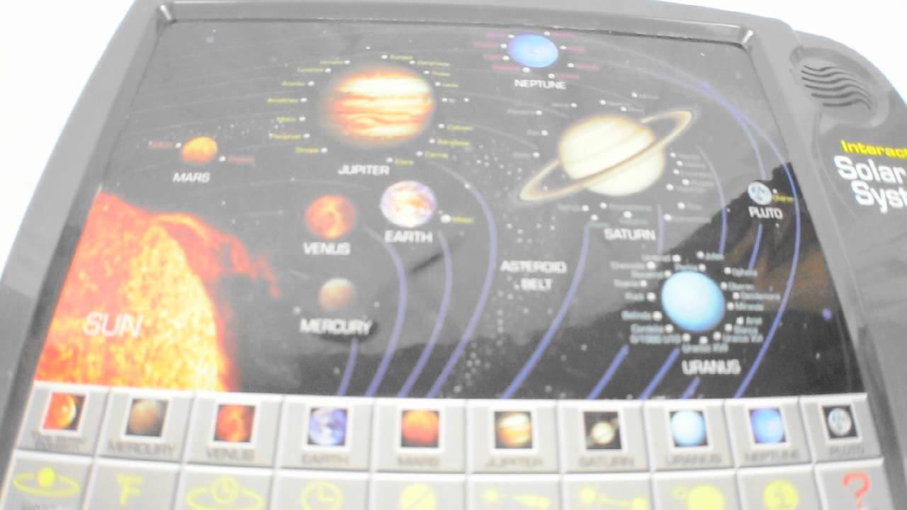 Interactive Solar System Game. - YouTube