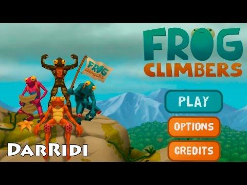 Frog Climbers игра про лягушку скалолаза