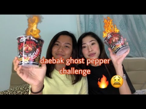 DAEBAK GHOST PEPPER CHALLENGE
