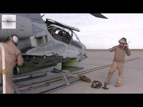 AH-1W Super Cobra Helicopter Maintenance