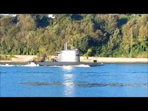 Submarine in Cobh