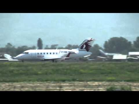QATAR EXECUTIVE take off to Nice.avi