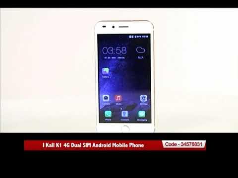 I Kall K1 4G Dual SIM Android Mobile Phone