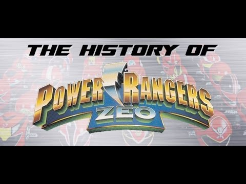 Power Rangers Zeo, Part 1 - History of Power Rangers
