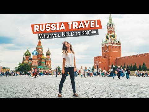 RUSSIA TRAVEL for First Timers - what YOU NEED to KNOW | Moscow & St. Petersburg