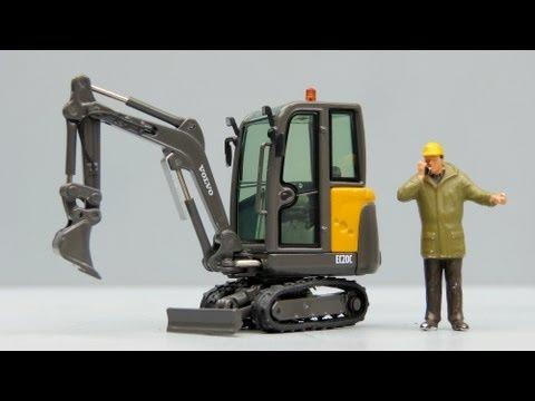 NZG Volvo EC20C Compact Excavator by Cranes Etc TV