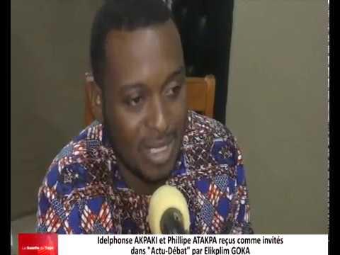 Philipe Maditoma ATAKPA et Idelphonse AKPAKI reçus dans « Actu-Débat » par Elikplim GOKA